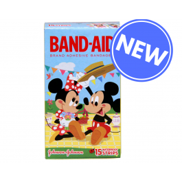Band-Aid Disney W/Proof 15pk