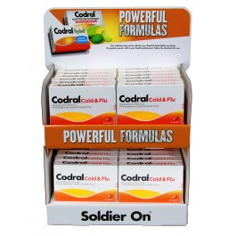 Codral 10 Cold & Flu Stand 24Pcs