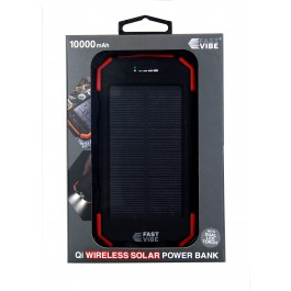 Fast Vibe Wireless Solar power bank 10000mAh