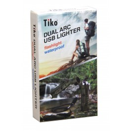 Tiko Lighters - TK2502 Dual ARC USB Lighter