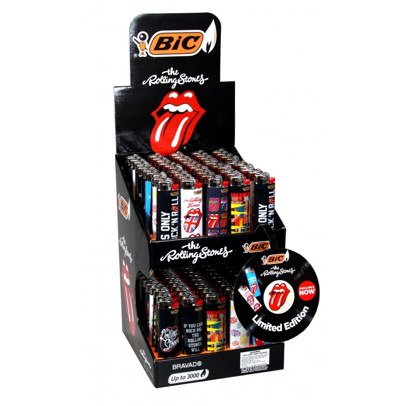 Bic Print - The Rolling Stones - Limited Edition