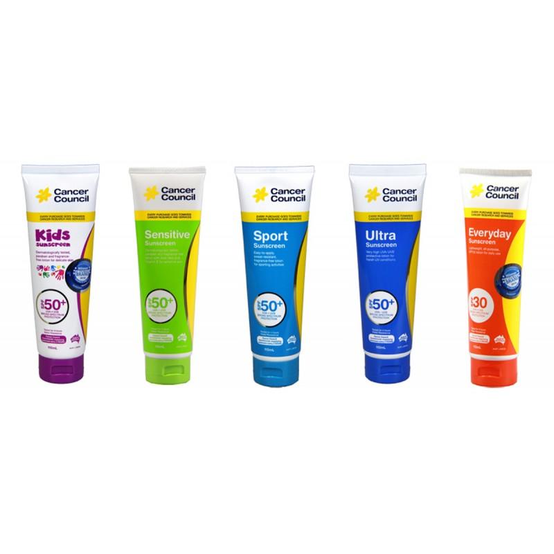 Sunscreen Collection - Cancer Council
