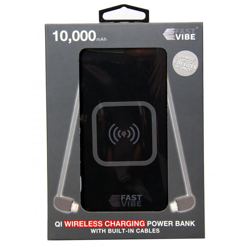Fast Vibe Power Bank Wireless 10000mAh
