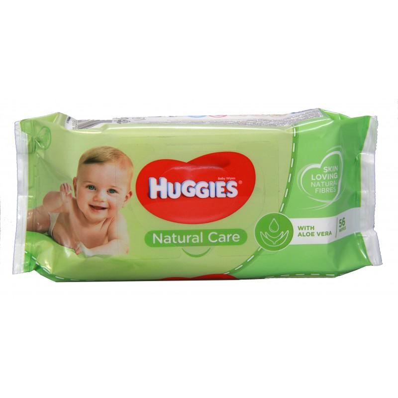 Huggies Wipes - Natural 56pk