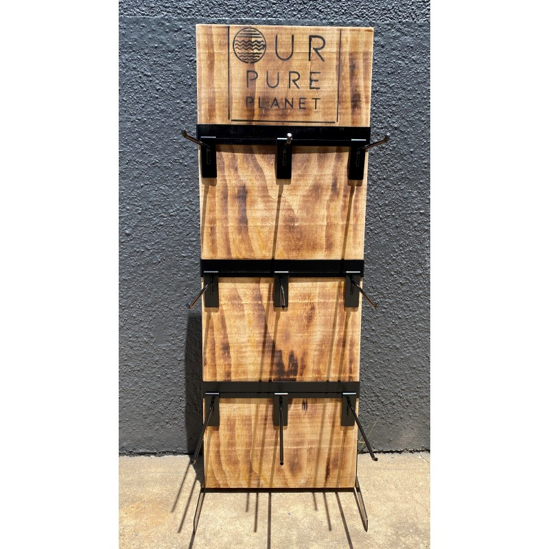 OPP Wood Counter Display Stand