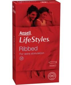 Ansell 12pk Ribbed