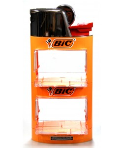 Bic Stand 2 Level Lighter Shape
