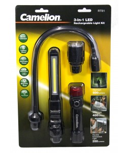 Camelion USB 3in1 KIT Torch