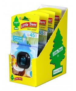 Little Trees Vent Liquid Caribbean Colada - 4pk