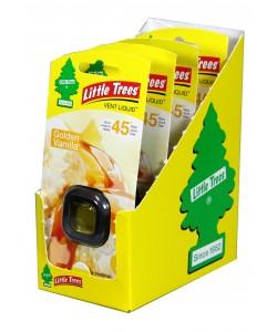 Little Trees Vent Liquid Golden Vanilla - 4pk