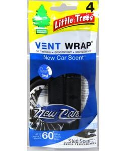 Little Trees Vent WRAP New Car 4pk
