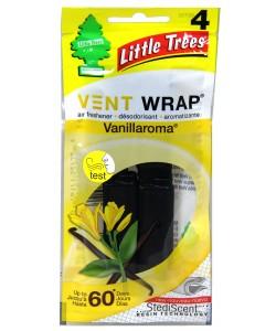 Little Trees Vent WRAP Vanillaroma 4pk