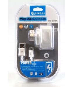 Micro USB Wall Charger Sansai