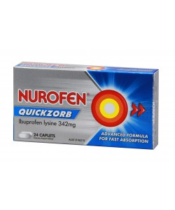 Nurofen Quickzorb 24pk Caplets