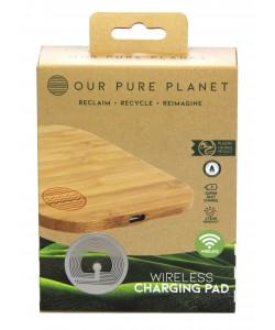 OPP Wireless Charging Pad Bamboo