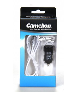 Micro USB Car Charger Camelion