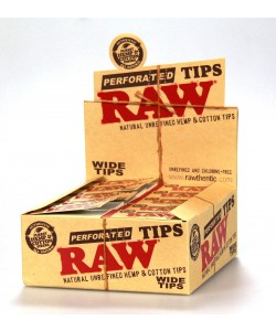 RAW Wide Tips 50PK