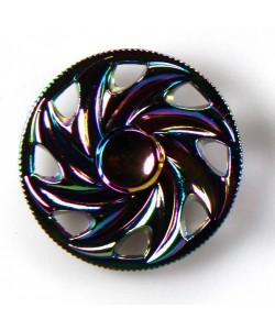Spinners Round Rainbow Metal