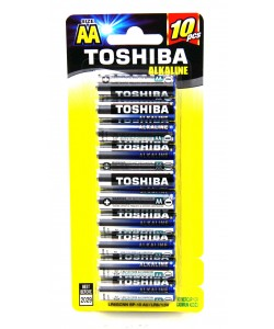 Toshiba Alkaline AA10PK