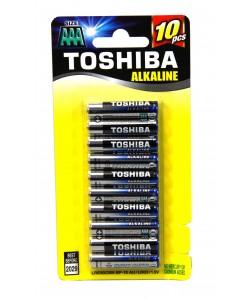 Toshiba Alkaline AAA10PK