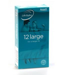 Ansell 12pk Large
