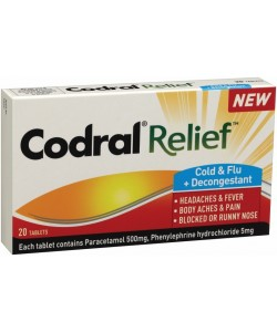 Codral Cold & Flu 20pk T