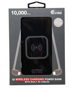 Fast Vibe Power Bank Wireless 10000mAh