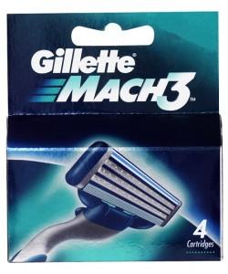 Gillette Mach 3 pk4