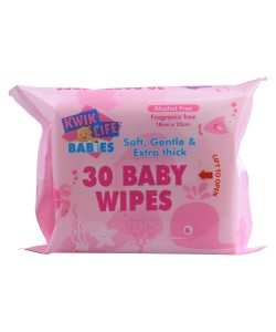 Baby Wipes 30pk PINK
