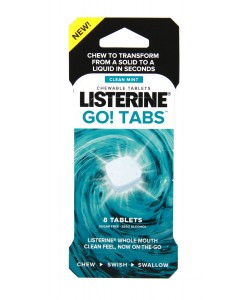 Listerine Go!Tabs Full Stand