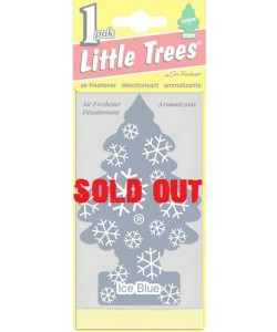 Little Trees - Ice Blue