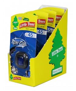 Little Trees Vent Liquid NEW CAR Scent - 4pk