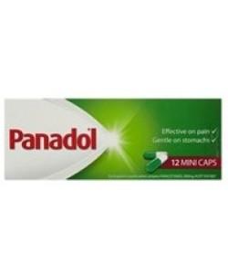 Panadol 12pk Mini Caps
