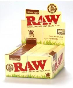 R/Pap RAW K Size Organic 50PK