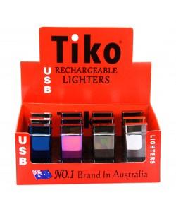 Tiko Lighters - TK2501 USB Double ARC