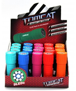 Tomcat 9 LED Rubber Built