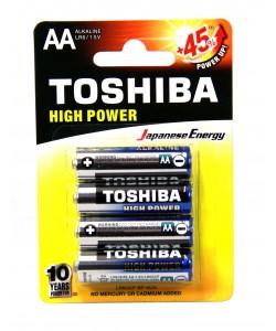Toshiba Alkaline AA4PK