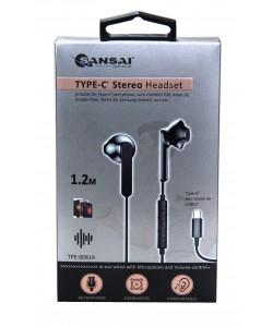 Earphones Stereo + Mic Type-C